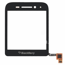 Touch-screen (Touchscreen) for BlackBerry Q5, The black
