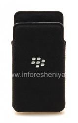 The original fabric cover-pocket Microfiber Pocket Pouch for BlackBerry Z10 / 9982, Grey