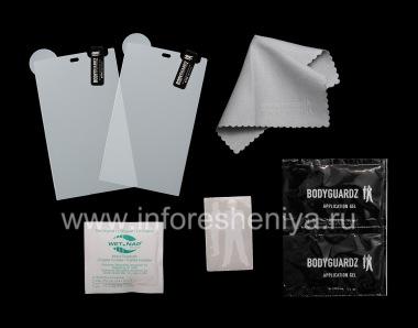 Buy Branded protective film for ultra-dense screen BodyGuardz UltraTough Clear ScreenGuardz (2 pieces) for BlackBerry Z10 / 9982