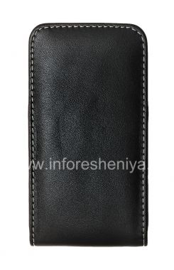 Buy Signature Leather Case-pocket handmade clip Monaco Vertical / Horisontal Pouch Type Leather Case for the BlackBerry Z10 / 9982