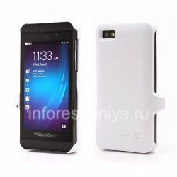 Case-Battery BlackBerry Z10, Matt White