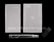 Branded Ultraprozrachnaya protective film for the screen and the housing Clear-Coat for the BlackBerry Z10, Transparent
