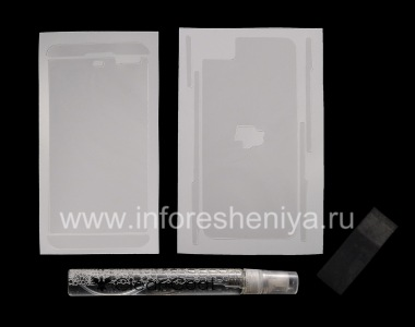 Buy Branded Ultraprozrachnaya protective film for the screen and the housing Clear-Coat for the BlackBerry Z10