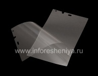 Proprietary ultra-thin protective film for the screen Savvies Crystal-Clear for BlackBerry Z10 / 9982, Transparent
