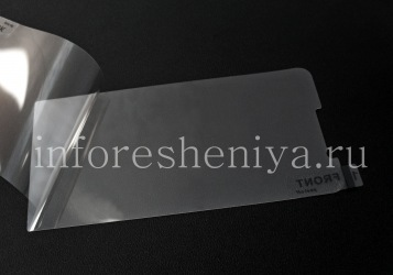 Screen protector for BlackBerry Z30, Crystal Clear