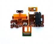 IC sensors with audio jack and power button for BlackBerry Z30