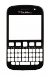 Touch-screen (Touchscreen) in the assembly with the front panel for BlackBerry 9720, The black