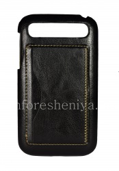 Leather Case, Cover for BlackBerry Classic, The black