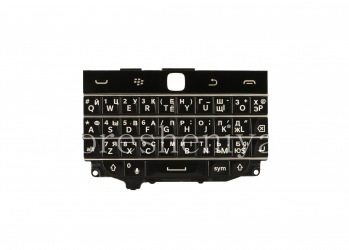 Russian keyboard BlackBerry Classic (engraving), The black