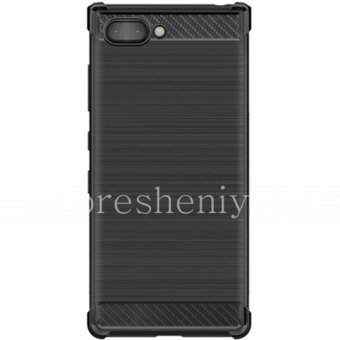 Buy Brand IMAK Carbon Silicone Case for BlackBerry KEY2