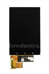 LCD screen + touchscreen for BlackBerry KEYone, The black