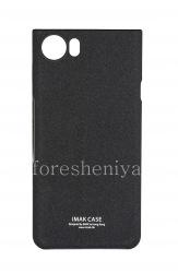 Branded plastic cover-cover IMAK Sandy Shell for BlackBerry KEYone, Black