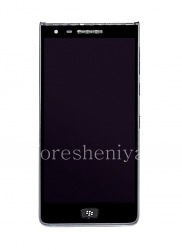 Full LCD screen for BlackBerry Motion, The black