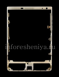 Original bezel in the assembly for BlackBerry Passport Silver Edition, Silver