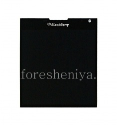 LCD screen + touchscreen in the assembly for BlackBerry Passport, Black, type 003/111