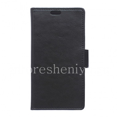 Buy Horizontal Leather Case with opening function supports for BlackBerry Priv