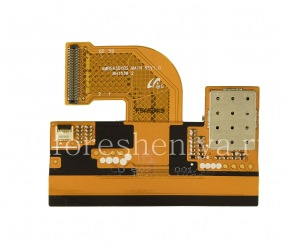 Screen and touchscreen connector with microcircuit for BlackBerry Priv