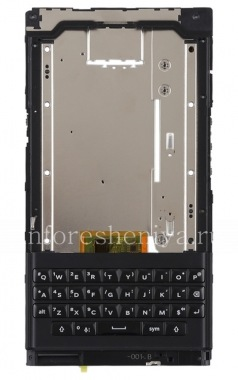 Buy Middle part of housing in the fully assembled with a keyboard, a speaker, a microphone and a loop side buttons for BlackBerry Priv