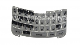 The original English keyboard for BlackBerry 8300/8310/8320 Curve, Gray