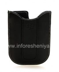 Leather Case-pocket for BlackBerry 8300/8310/8320 Curve (copy), The black