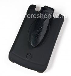 Case-Holster Corporativa Cellet Elite Ruberized Funda para BlackBerry Curve 8300/8310/8320, Negro