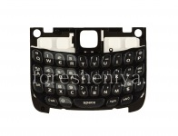 The original English keyboard with a substrate for the BlackBerry 8520 Curve, The black