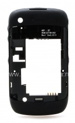 The middle part of the original case for the BlackBerry 8520/9300 Curve 3G, The black