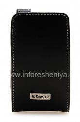 Signature Leather Case Krusell Orbit Flex Multidapt Leather Case for the BlackBerry 8520/9300 Curve, Black