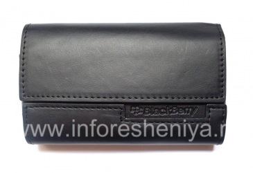 الأصلي حقيبة جلد حقيبة جلدية فوليو لبلاك بيري, أسود / أسود (أسود ث / أسود اللكنة)
