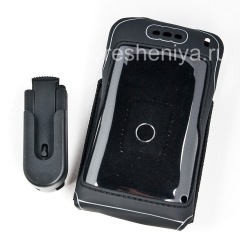 Branded Silicone Case with Clip Wireless Xcessories Carrying Skin Case with Belt Clip for BlackBerry 8800 / 8820/8830, Black