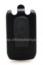 Case-Holster Corporativa Cellet Fuerza Ruberized Funda para BlackBerry Curve 8900, Negro