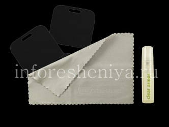 Branded screen protector and case Case-Mate Clear Armor for the BlackBerry 9000 Bold, Transparent