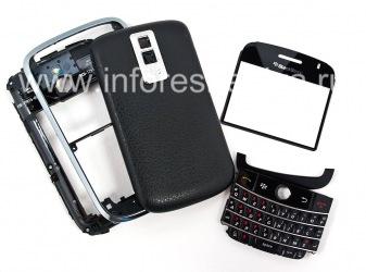Original housing for BlackBerry 9000 Bold, The black