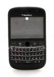 """Colour iKhabhinethi for BlackBerry 9000 Bold, Matte Black, cover """"isikhumba"""""""