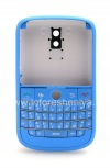 """Photo 1 — Colour housing for BlackBerry 9000 Bold, Blue Brushed, cover """"skin"""""""