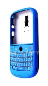 """Photo 3 — Colour housing for BlackBerry 9000 Bold, Blue Brushed, cover """"skin"""""""