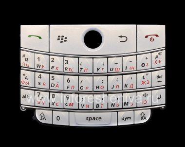Buy Pearl White Russian keyboard BlackBerry 9000 Bold