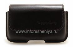 原装皮套袋用夹子Horisontal皮套BlackBerry 9000 Bold, 深棕色咖啡(Espresso)