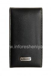 Signature Leather Case Krusell Orbit Flex Multidapt Leather Case for the BlackBerry 9000 Bold, Black