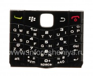 The original English Keyboard for BlackBerry 9100 Pearl 3G, The black