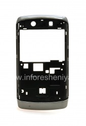 The rim without housing elements for the BlackBerry 9520/9550 Storm2, Dark metallic / Black