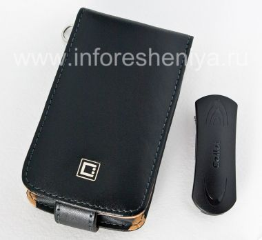 Buy Signature Leather Case with vertical opening cover Cellet Executive Case for BlackBerry 9520/9550 Storm2