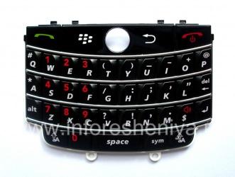 The original English Keyboard for BlackBerry 9630/9650 Tour, The black