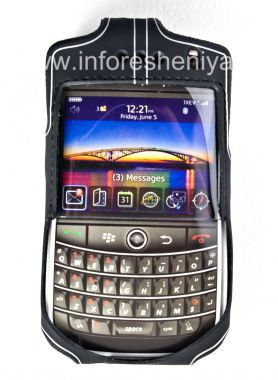 Buy Corporate Silicone Case with Clip Wireless Xcessories Platinum Skin Case with Belt Clip for BlackBerry 9630/9650 Tour