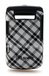 Corporate plastic cover with fabric insert Speck Fitted Case for BlackBerry 9700/9780 Bold, Black White