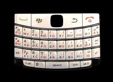 Buy White Russian keyboard with dark stripes BlackBerry 9700/9780 Bold