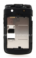 The middle part of the original case for the BlackBerry 9700/9780 Bold, The black