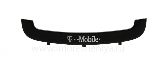 Part of the hull U-cover with the logo of the operator for the BlackBerry 9700/9780 Bold, Black, T-Mobile