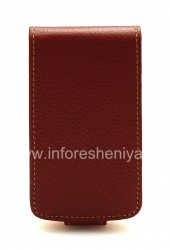 Leather case cover with vertical opening Wallet Case for BlackBerry 9700/9780 Bold, Brown