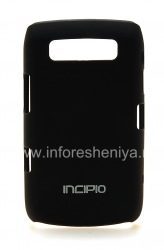 Corporate plastic cover, cover Incipio Feather Protection for BlackBerry 9700/9780 Bold, Black